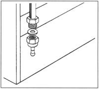 подвод газа к газовым плитам: